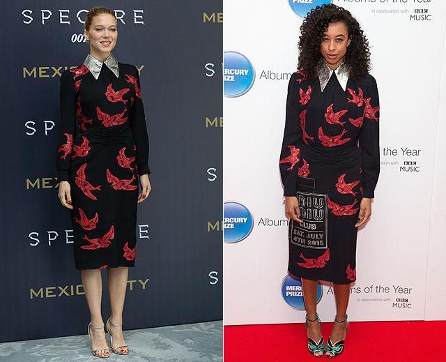 Dos mujeres un vestido, Lea Seydoux, Corinne Bailey Rae