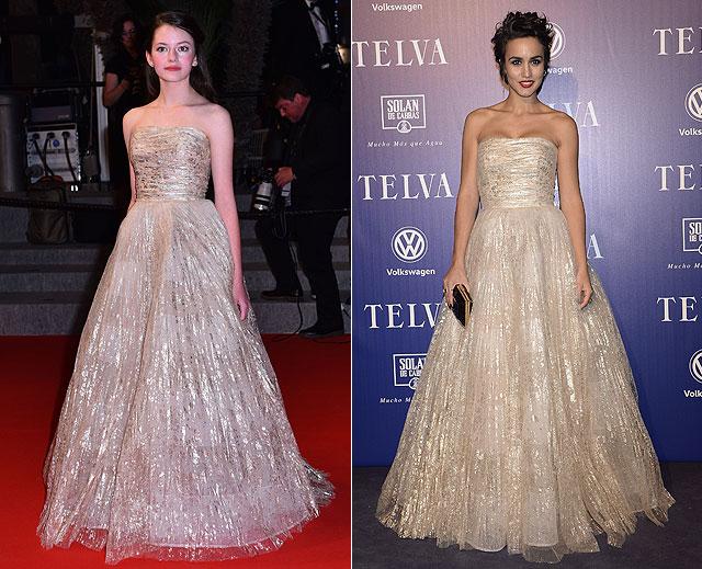 Dos mujeres un vestido, Mackenzie Foy, Megan Montaner