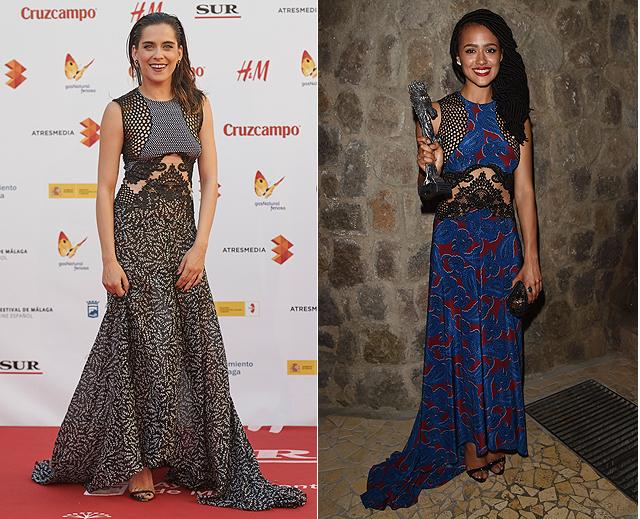 Dos mujeres, un vestido, María León, Nathalie Emmanuel