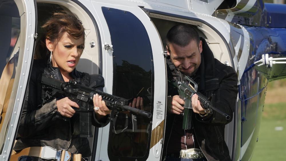 Vanessa Villela y Rafael Amaya