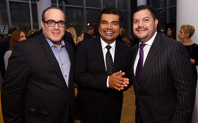 David Zayas, George Lopez, Rick Marroquín