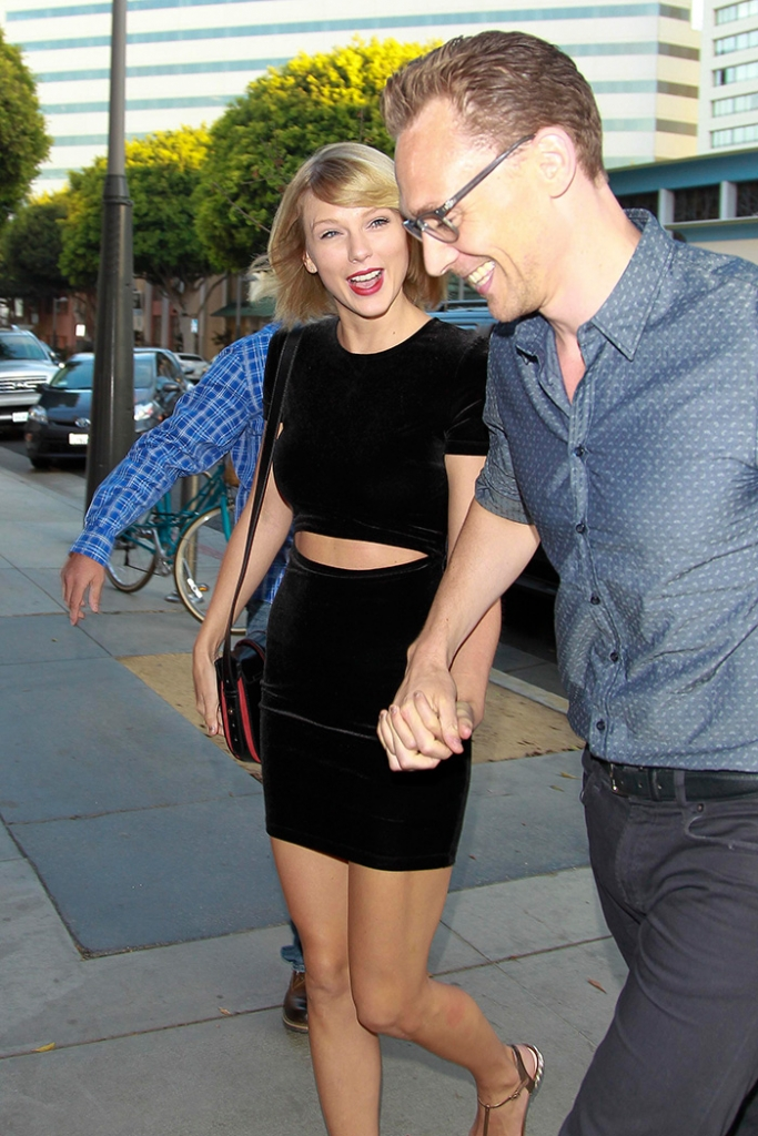 Taylor Swift , Tom Hiddleston