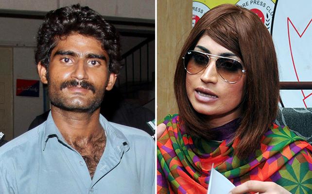 Waseem Azeem y su hermana Qandeel Baloch