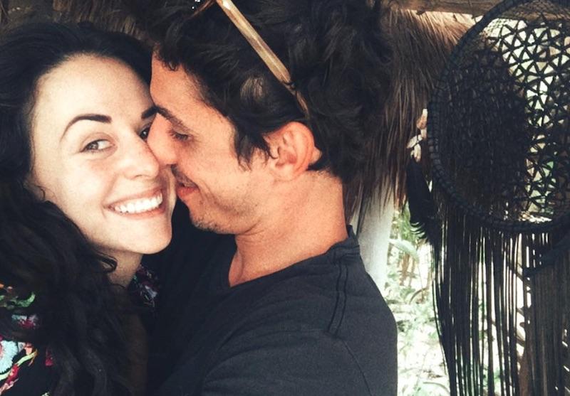 Zuria Vega y Alberto Guerra