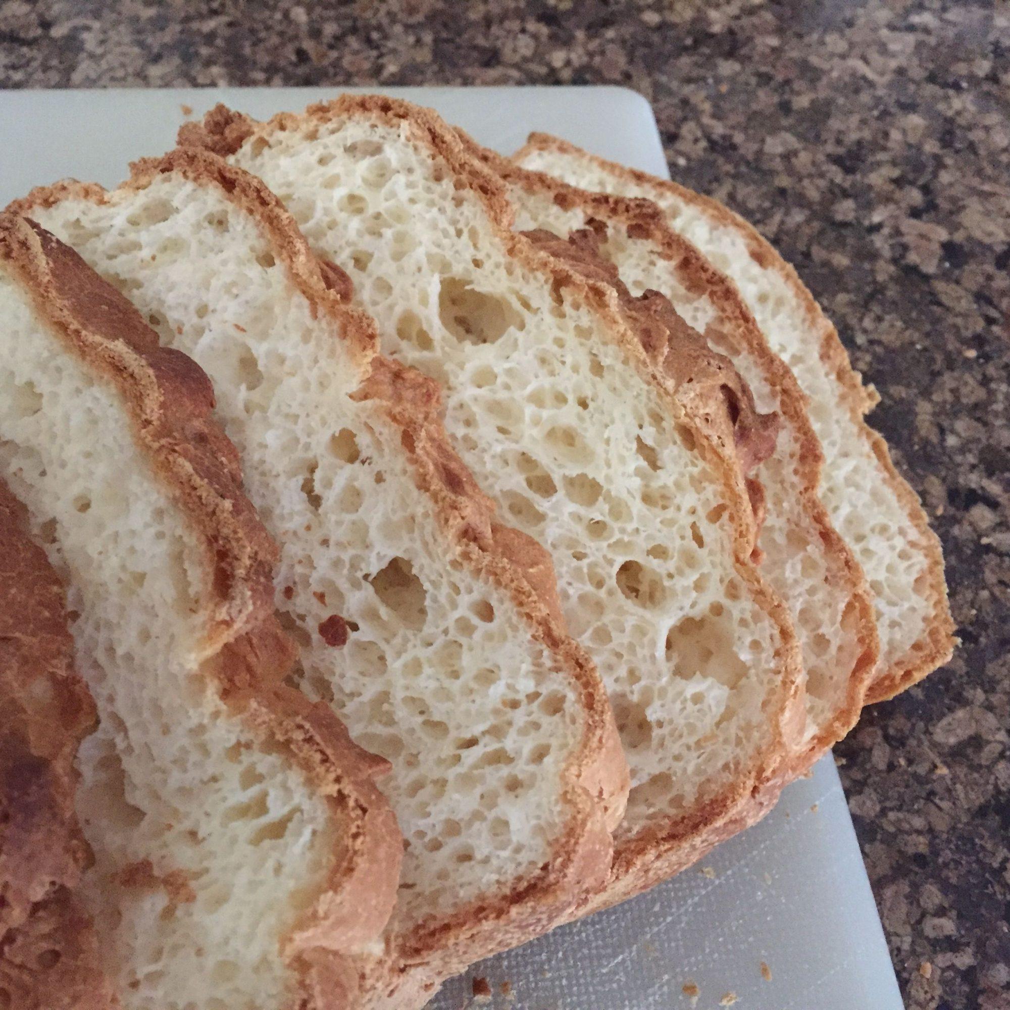 Pan blanco de caja sin gluten