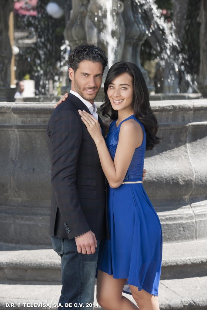 Esmeralda Pimentel y Erick Elías