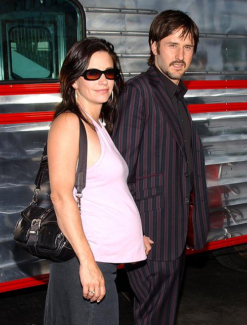 Courtney, David Arquette, madre a los 40