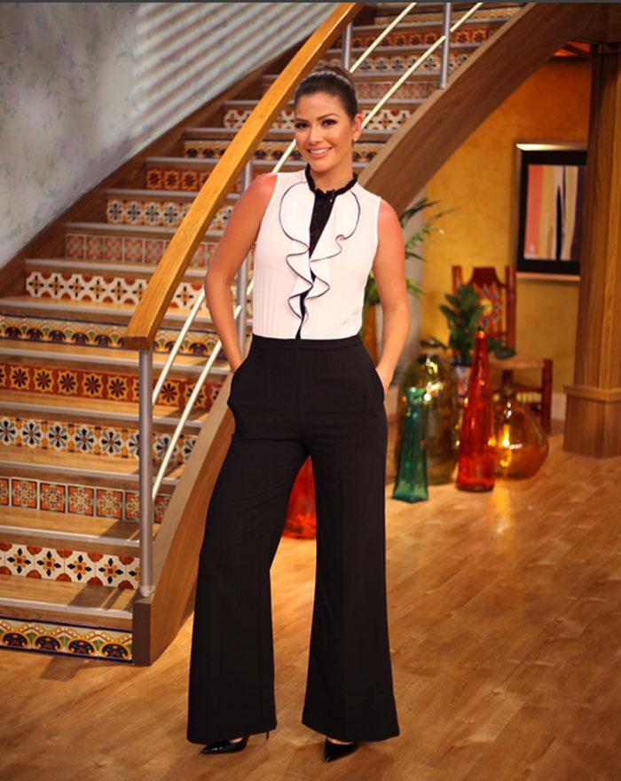 Ana Patricia Gámez, look del día