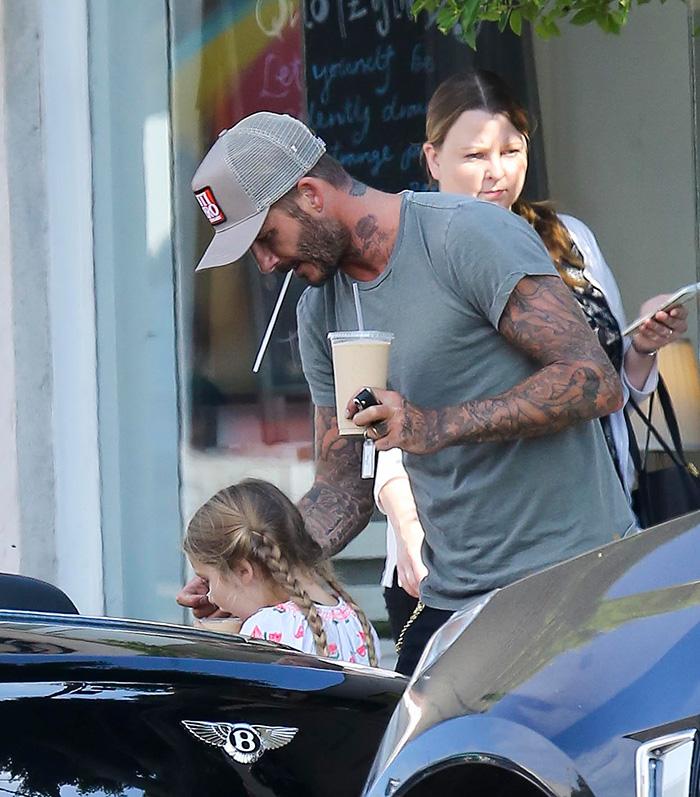 David Beckham , Harper