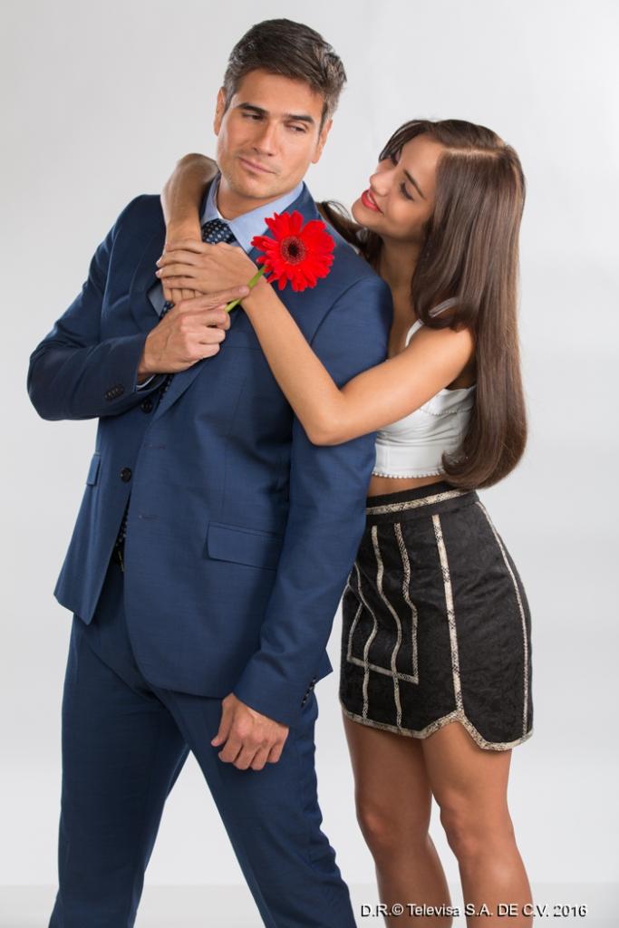 Daniel Arenas y Ela Velden