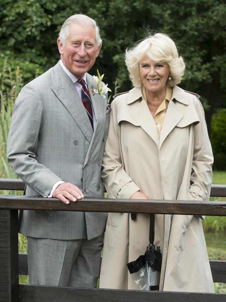 Principe Charles y su esposa Camilla