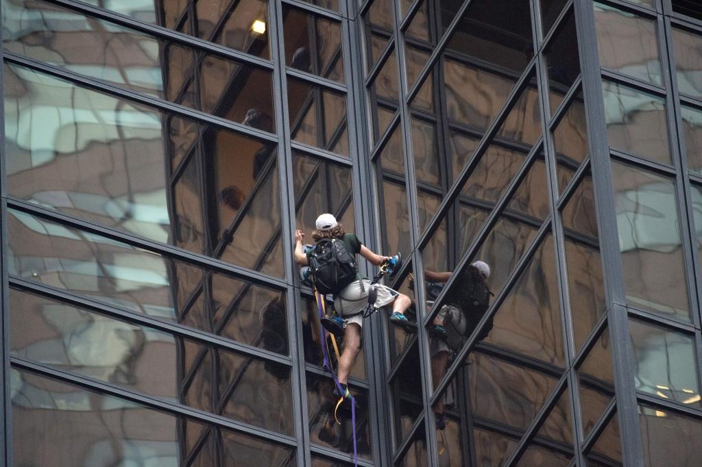 escalador de Trump Tower