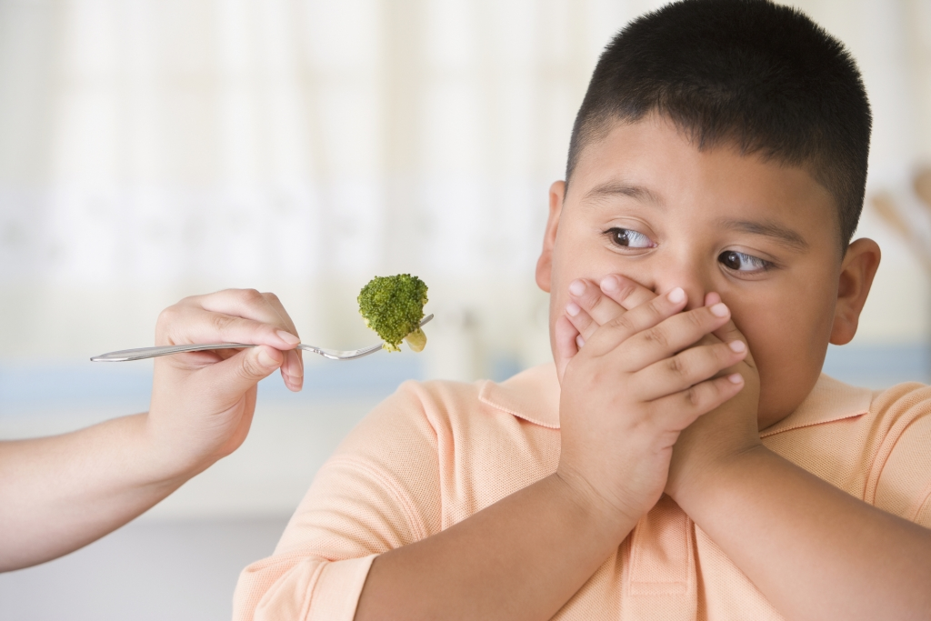 Vegetables and Kid