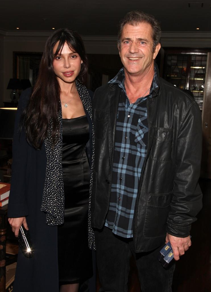 Mel Gibson y Oksana Grigorieva