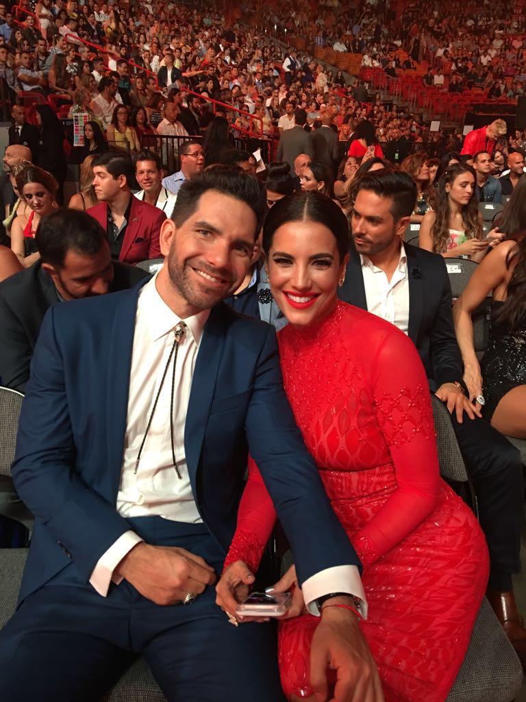 Gaby Espino y su novio