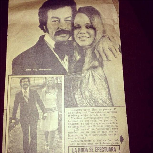 Historia de amor de Charytín Goyco y Elín Ortiz