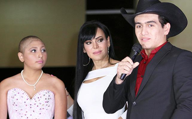 Julián Figueroa, Maribel Guardia y Michelle