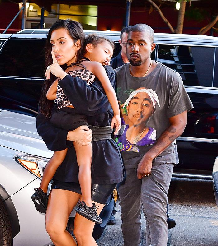 North West , Kim Kardashian