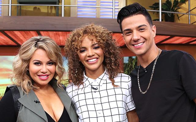 Chiquis Rivera, Leslie Grace y Luis Coronel
