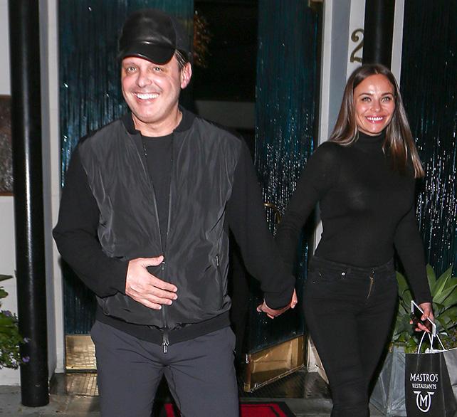 Luis Miguel y su novia Kristina