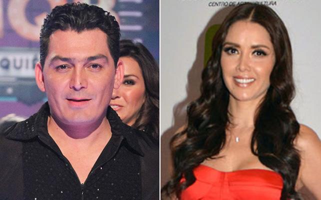 José Manuel Figueroa y Marlene Favela