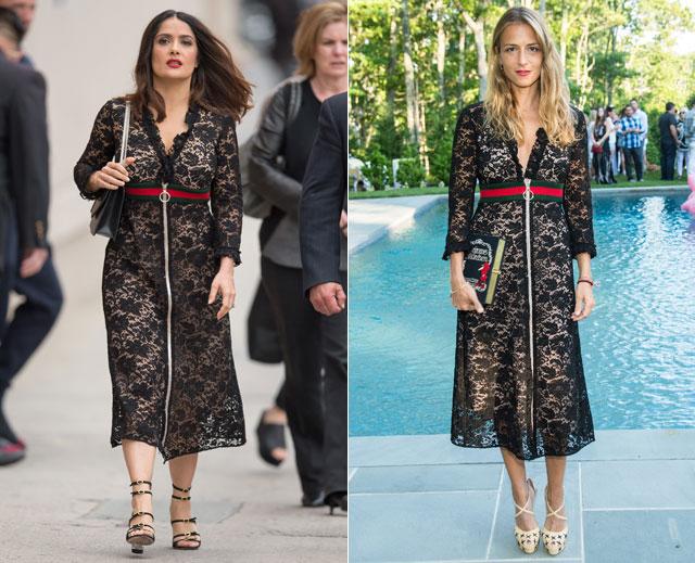 Dos mujeres, un vestido