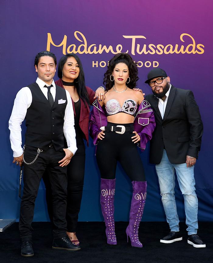 Selena QuintanillaSuzette Quintanilla, Chris Pérez, A.B. Quintanilla ,
