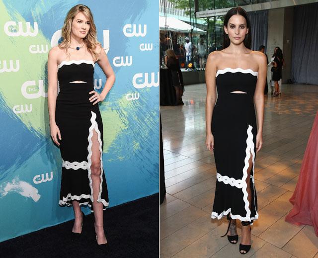 Dos mujeres un vestido