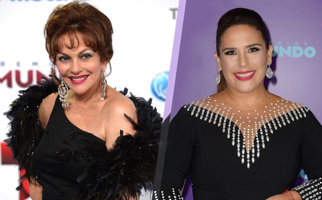 Lupita Ferrer y Angelica Vale