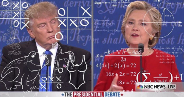 Hillary Clinton, Donald Trump, memes