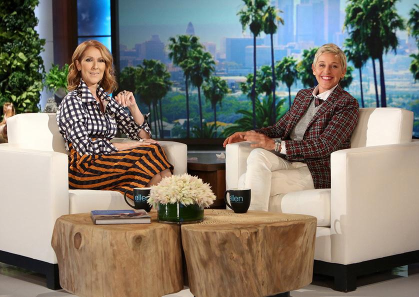 Celine Dion y Ellen DeGeneres