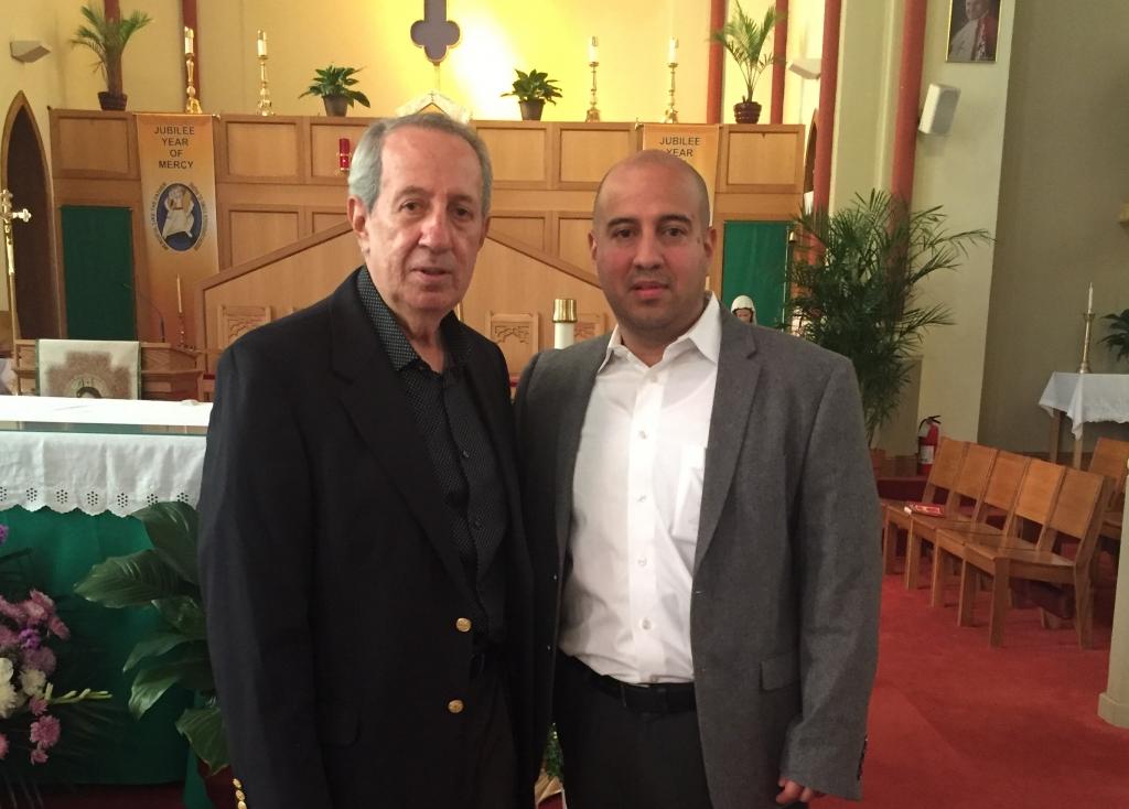 Gustavo y Eduardo Alcivar