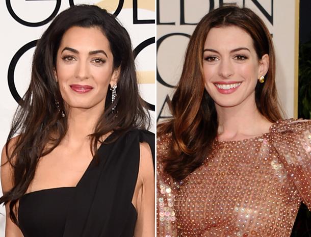 Amal Clooney, Anne Hathaway