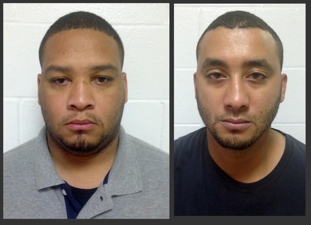 Derrick Stafford y Norris Greenhouse Jr.