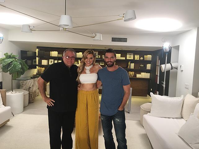 Armando Correa, Marjorie de Sousa y Julián Gil