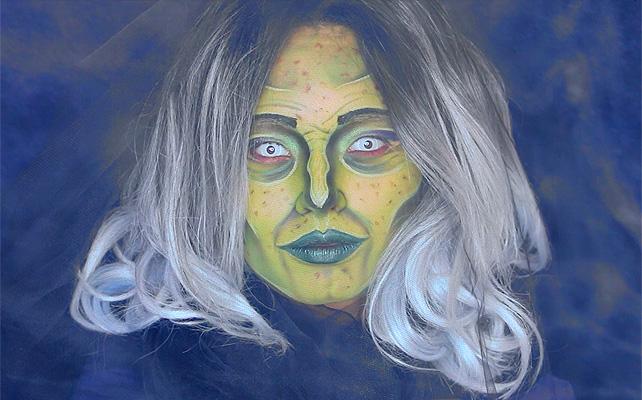 Maquillaje, bruja, tutorial, Laura Sánchez
