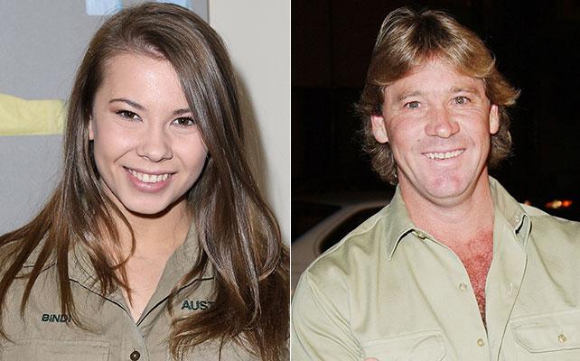 Bindi y Steve Irwin