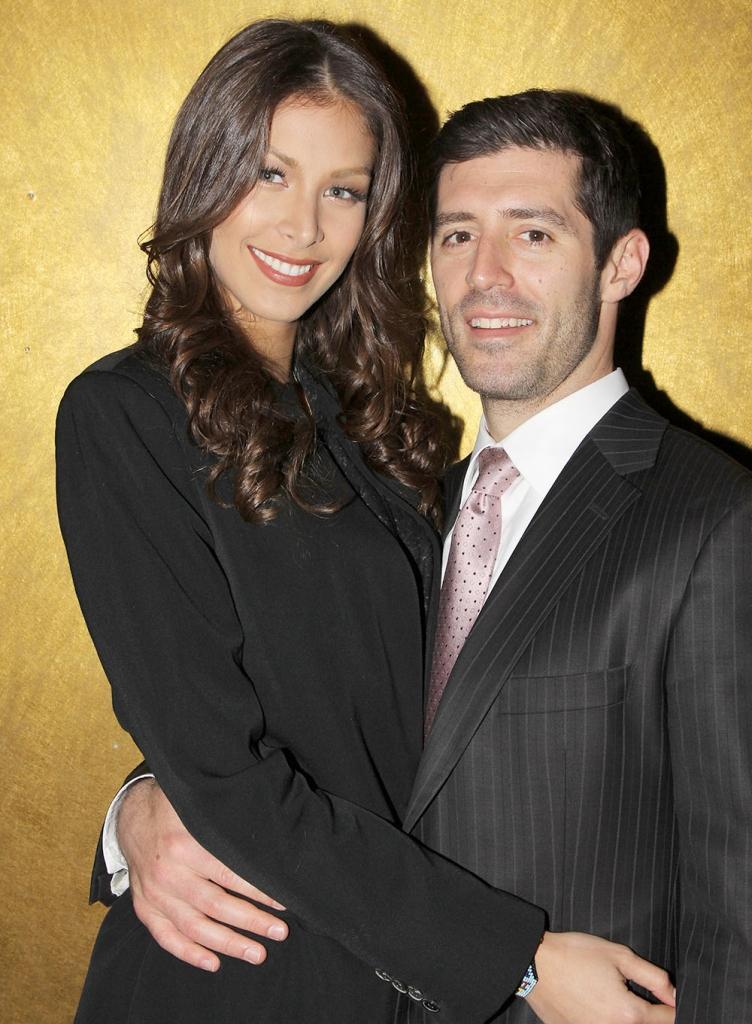 Dayana Mendoza y Michael Pagano