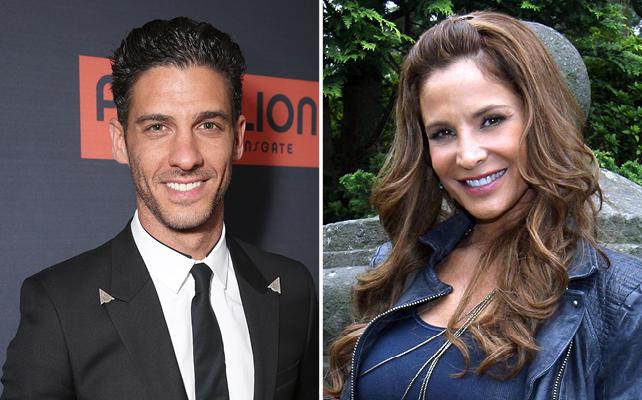 Erick Elías y Lorena Rojas