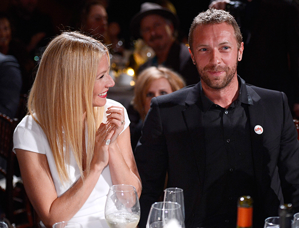 Gwyneth Paltrow y Chris Martin