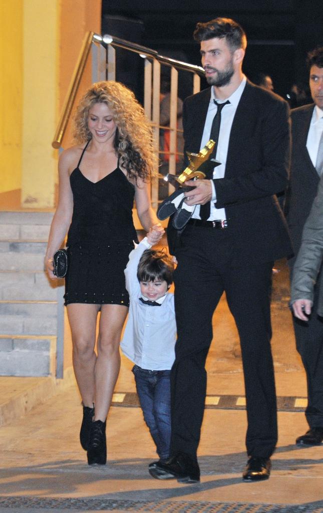 Shakira, Pique, Milán