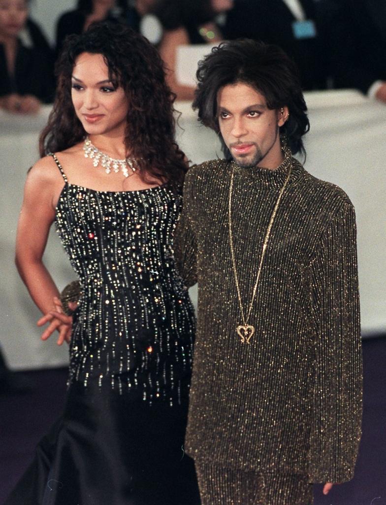 Prince y Mayte Garcia