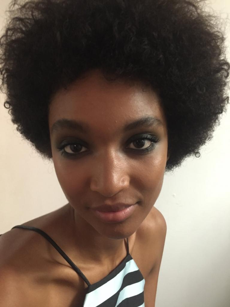 Backstage Nicole Miller