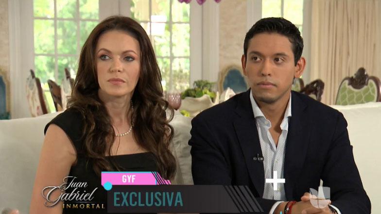 Iván Aguilera, hijo de Juan Gabriel, habla sobre el cantante