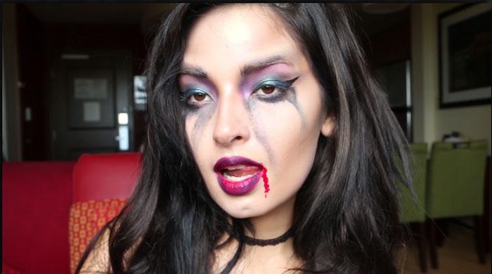 Maquillaje de vampira