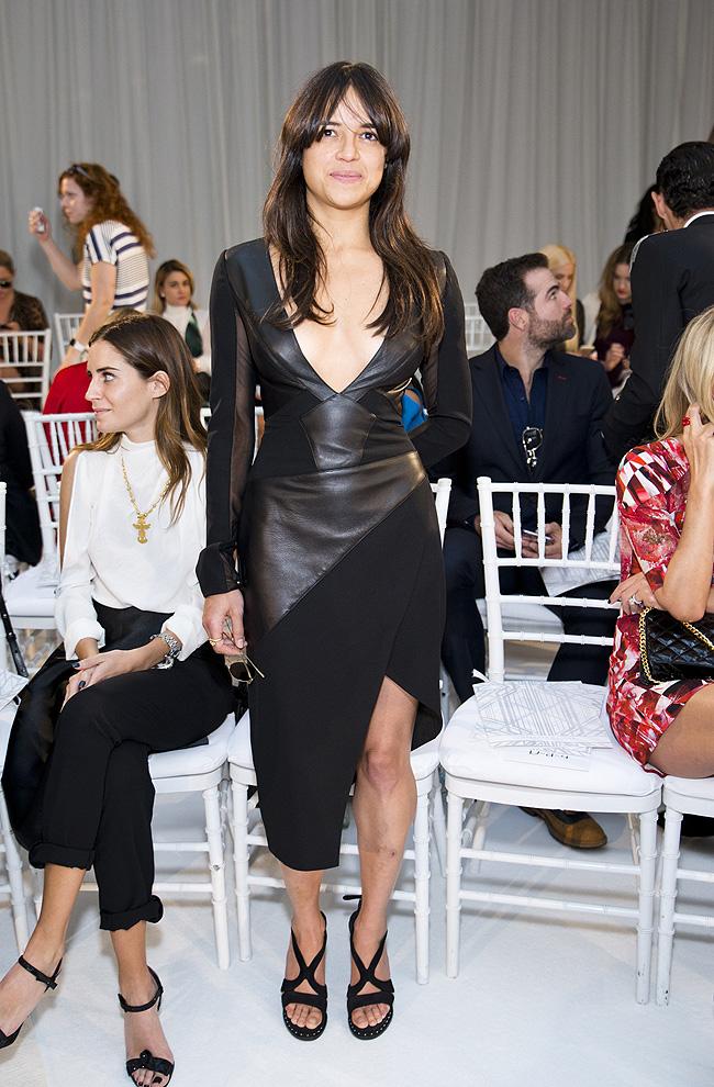 Michelle Rodríguez, moda, desfile, consejo, gabriela cadena
