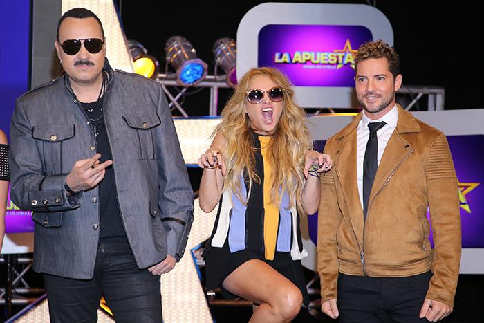 Paulina Rubio, David Bisbal, Pepe Aguilar