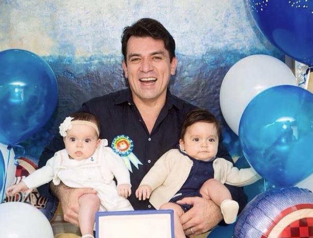 Jorge Salinas, Máxima Salinas, León Salinas