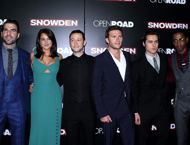 Zachary Quinto, Shailene Woodley, Joseph Gordon-Levitt, Scott Eastwood, Ben Schnetzer, Keith Stanfield