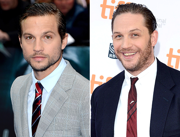 Logan Marshall, Tom Hardy
